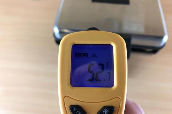 Temperaturmessung des Syntrox ZWE-8