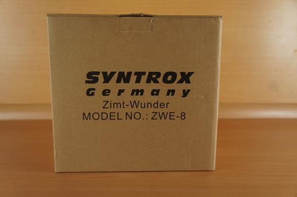 ZWE-8 in Verpackung