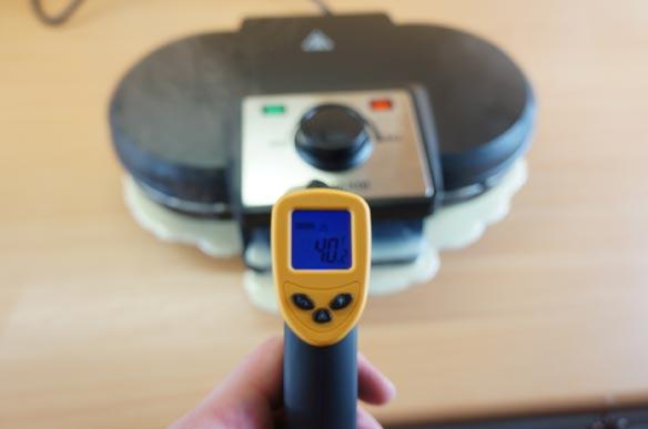 Temperaturmessung des Severin WA 2106